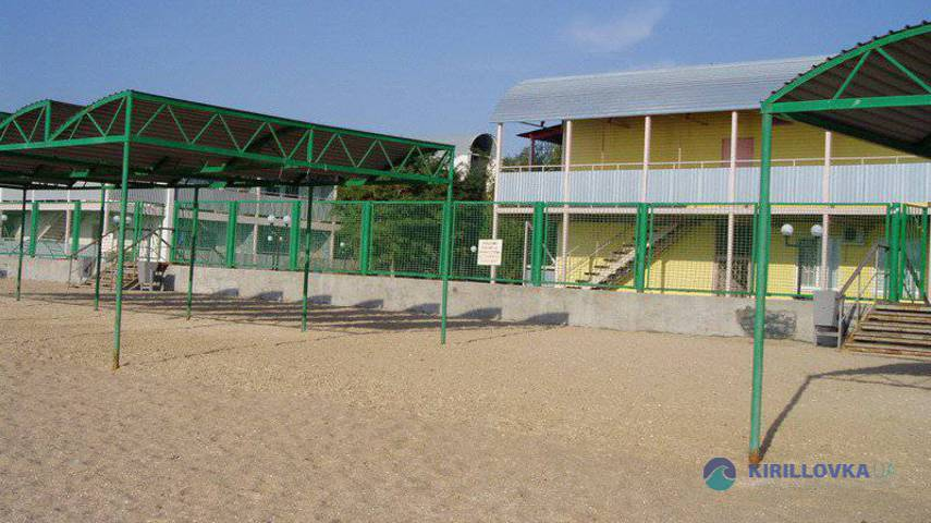 Кирилловка база отдыха солнечный берег